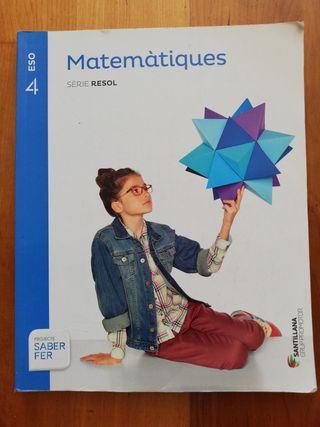 Libro matemáticas 4 ESO