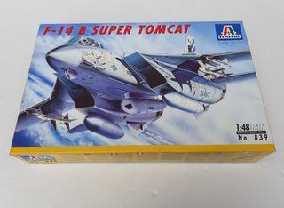 Maqueta avion F14 Tomcat Italeri 1/48