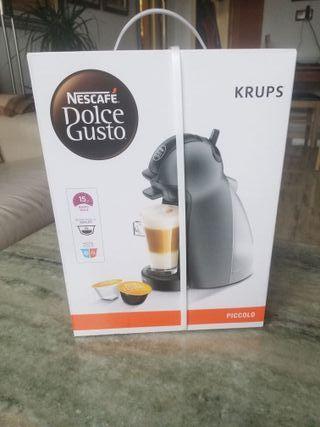 Cafetera Piccolo Gris
