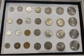 colección de pesetas antiguas