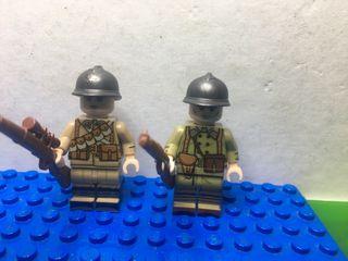 Lego compatible 2GM - Soldados franceses