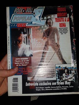 revista popular 1 con portada rozada