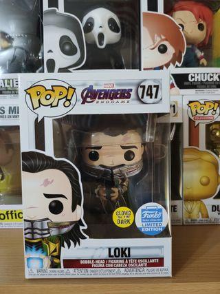 Funko pop Loki - Avengers Endgame Edición Limitada