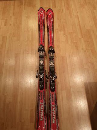 Esquís Volkl 5 estrellas Titanium All stars 162cm