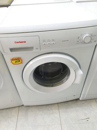 Lavadora Corberó 6 kilos con garantía