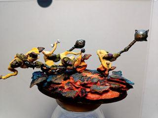Warhammer diorama.