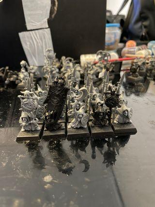 Regimiento goblins nocturnos warhammer