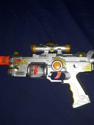 pistola espacial