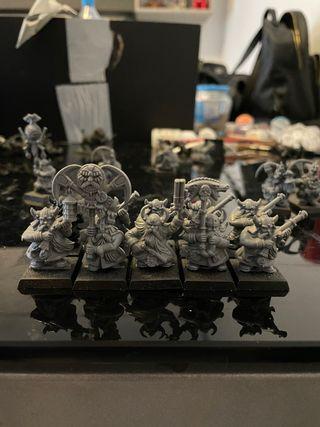 Warhammer arcabuceros enanos