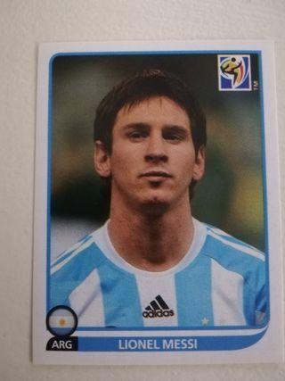 Cromo Messi mundial 2010