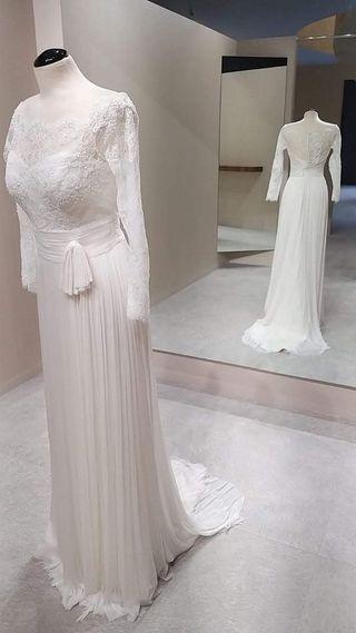 Vestido de novia Aire de Barcelona A ESTRENAR