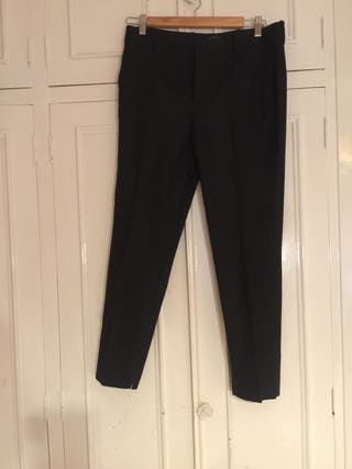 Pantalón gris marengo, marca Zara