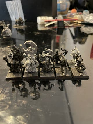 Arqueros goblins warhammer