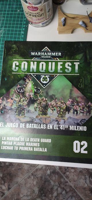 Warhammer conquest Death guard pack