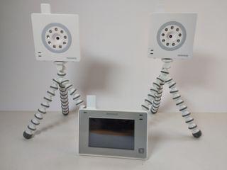 vigilabebés Miniland 2 cámaras y pantalla táctil
