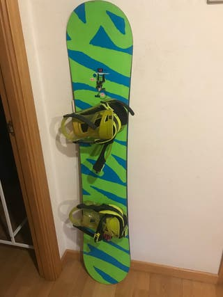 Tabla Snowboard Ride Buckwild + Fijaciones