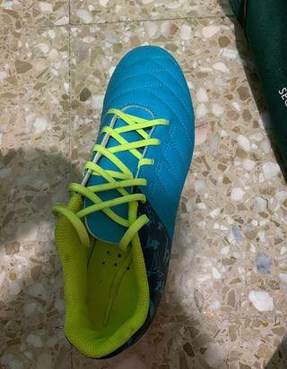 Botas de fútbol kipsta talla 36