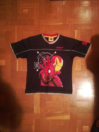 Camiseta Iron Man niño