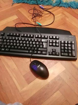 teclado en buen estado