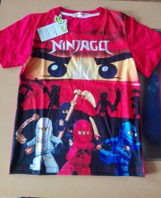 Camiseta Ninjago 120 cm