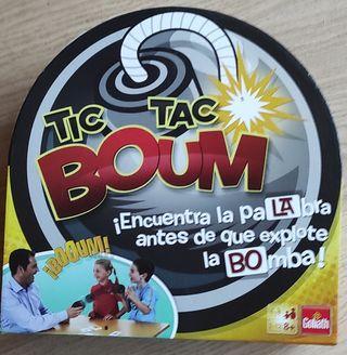 Juego Tic TAC Boum