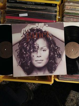 Janet Jackson Janet doble lp vinilo UK 1993