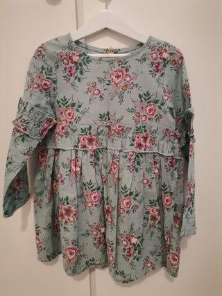 precioso vestido talla 4/5 años