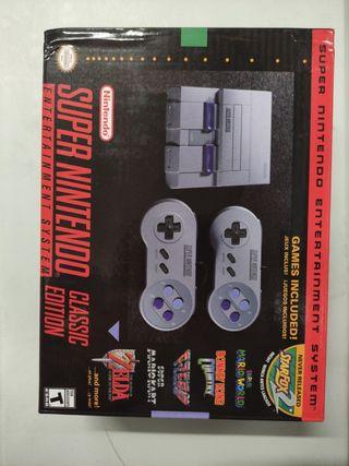 Super Nintendo mini versión Usa