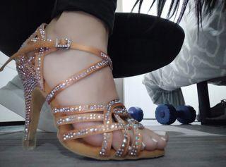 zapatos de baile salsa, bachata,bailes de salon