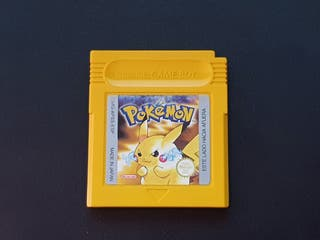 Pokémon Amarillo, solo cartucho