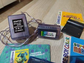 Vendo lote Game Boy Color Morada