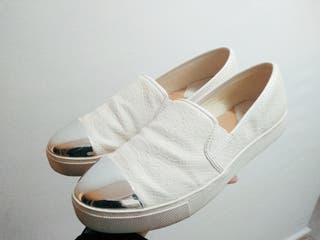 Zapatillas Stradivarius blancas