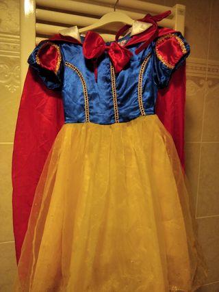 Disfraz de Blancanieves 4-5 años