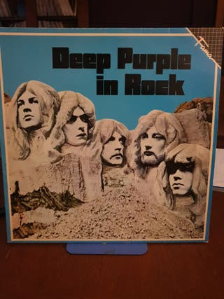 DISCO VINILO DEEP PURPLE IN ROCK 1970 ESPAÑA