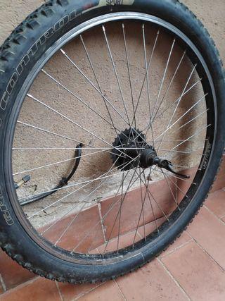 rueda trasera 26 pulgadas