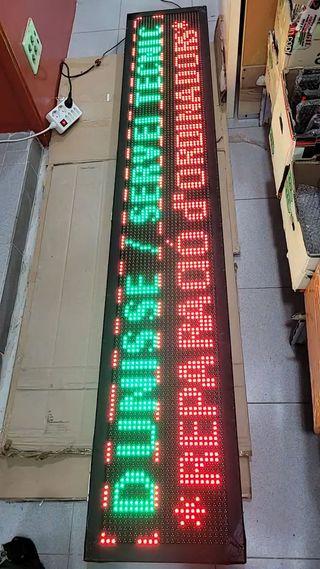 Cartel Led (Lumínico) programable