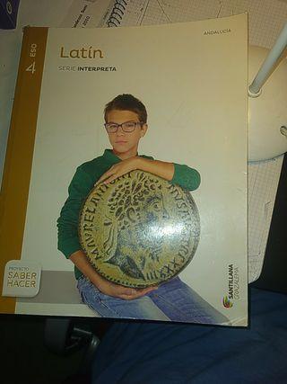 libro de latín 4º de eso santillana