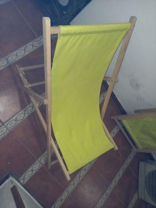 tumbona, silla