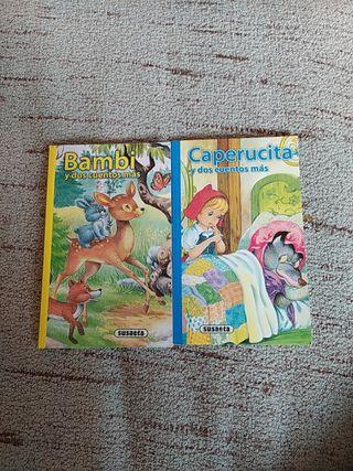 Bambi y otros cuentos. Caperucita y otros cuentos.