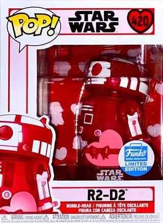 Funko Pop Star Wars R2-D2 (Pink) 420
