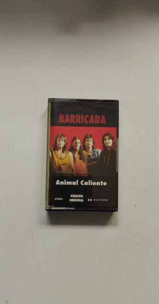 Cassette Barricada Animal Caliente