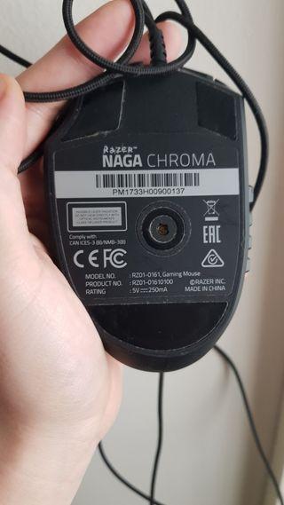 Raton Razer Naga Chroma