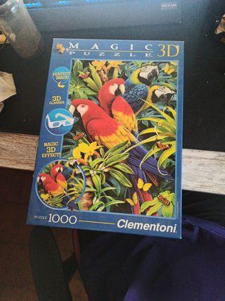 puzzle 1000 piezas 3D