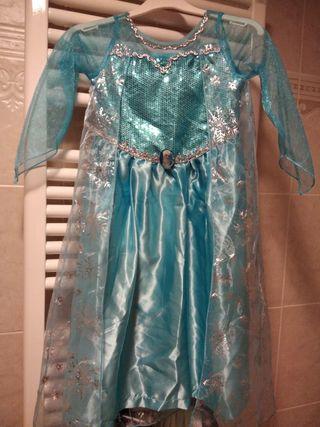 Disfraz Elsa 4-5