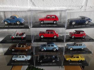 coches escala 1/43