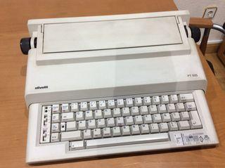Máquina de escribir eléctrica Olivetti PT 505