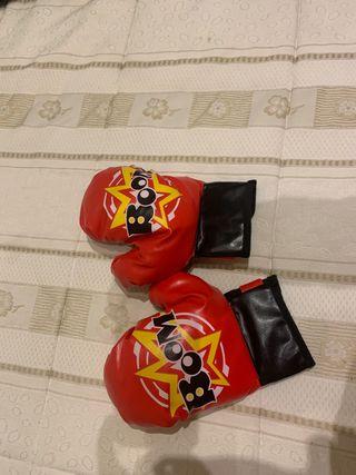 Guantes de boxeo niño 8 años nuevos a estrenar