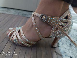 zapatos de baile de salsa, bachata,bailes de salón