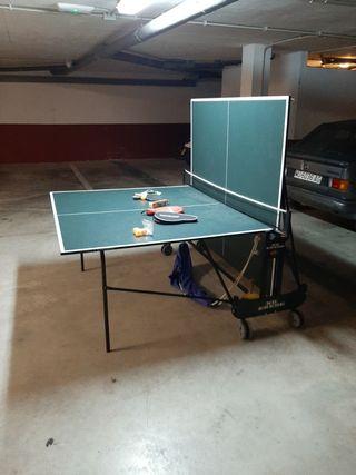 Mesa Ping Pong con accesorios