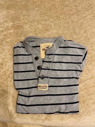 Camiseta manga larga Hollister
